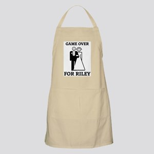 Game over for Riley BBQ Apron