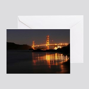 Golden Gate from Barker Beach Greeting Card