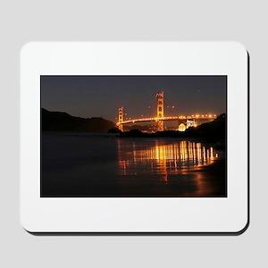 Golden Gate from Barker Beach Mousepad