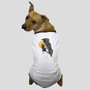 Cliff Climber Dog T-Shirt