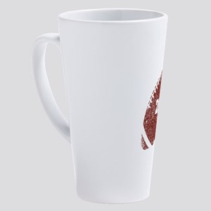 20th Anniversary Football Twenty 17 oz Latte Mug