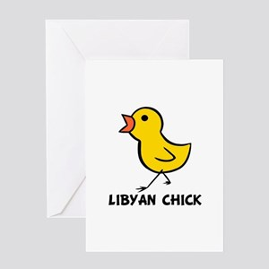 Libyan Chick Greeting Card