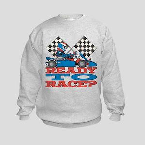 Ready to Race Go Kart Kids Sweatshirt
