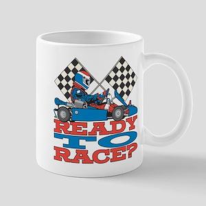 Ready to Race Go Kart Mug