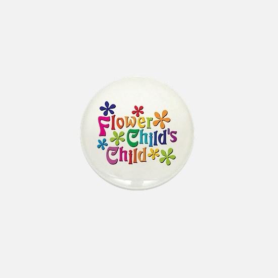 Flower Child's Child Mini Button