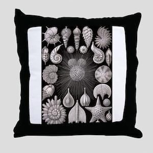 Nautiloids Throw Pillow