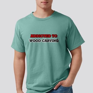 Addicted to Wood Carving T-Shirt