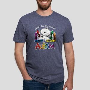 AUTISM-CRAYONSblk T-Shirt
