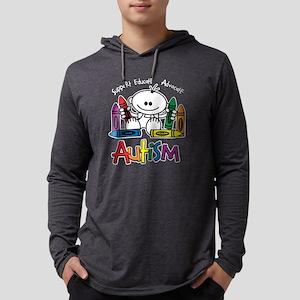 Autism Crayons Long Sleeve T-Shirt