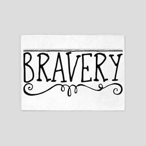 Bravery 5'x7'Area Rug