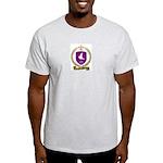 FRANCOIS Family Crest Ash Grey T-Shirt