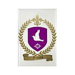 FRANCOIS Family Crest Rectangle Magnet (100 pack)