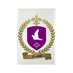 FRANCOIS Family Crest Rectangle Magnet (10 pack)