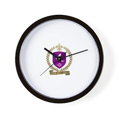 FRANCOIS Family Crest Wall Clock