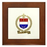 GRENON Family Crest Framed Tile