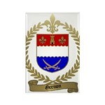 GRENON Family Crest Rectangle Magnet (100 pack)