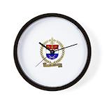 GRENON Family Crest Wall Clock
