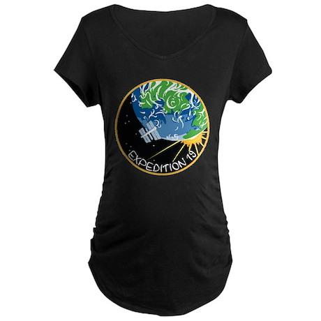 Expedition 19 Maternity Dark T-Shirt