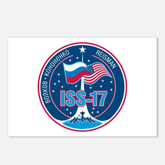 Expedition 17 Logo Postcards (Package of 8)