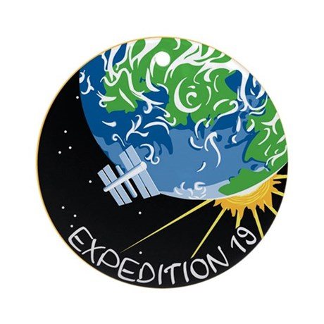Expedition 19 Ornament (Round)