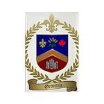 GRONDIN Family Crest Rectangle Magnet (100 pack)