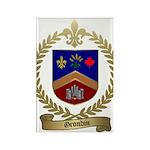 GRONDIN Family Crest Rectangle Magnet (10 pack)