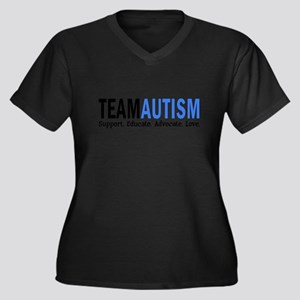 Team Autism (Blue) Plus Size T-Shirt