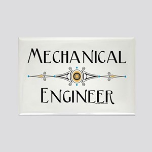 Mechanical Engineer Rectangle Magnet