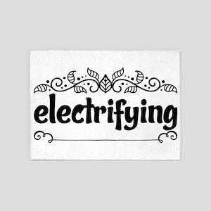 electrifying 5'x7'Area Rug