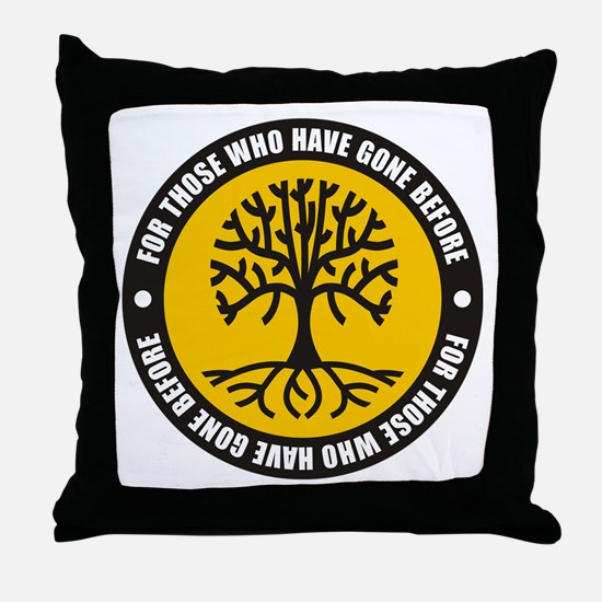 Those Gone Before Throw Pillow