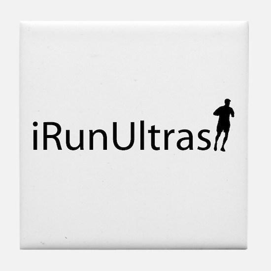 iRunUltras Tile Coaster