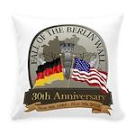 Berlin Wall 30 Year Anniversary Everyday Pillow