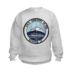 USS GREGORY Kids Sweatshirt