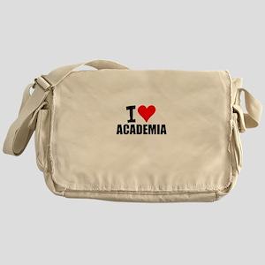 I Love Academia Messenger Bag