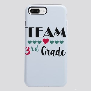 Team 3rd Grade Teacher iPhone 8/7 Plus Tough Case