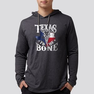 Cattle Skull Art for Texas Wom Long Sleeve T-Shirt
