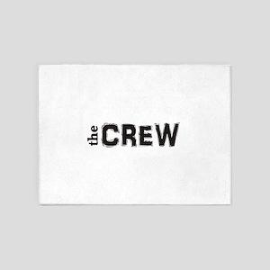 the CREW 5'x7'Area Rug