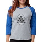 Illuminati Confirmed Womens Baseball Tee