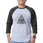 Illuminati Confirmed Mens Baseball Tee