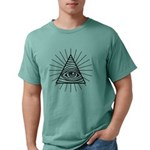 Illuminati Confirmed Mens Comfort Colors® Shirt