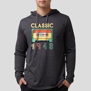 Classic 1948 Mixtape Cassette Long Sleeve T-Shirt