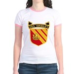 USS GRIDLEY Jr. Ringer T-Shirt