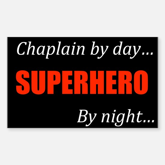 Chaplain Gift Rectangle Decal