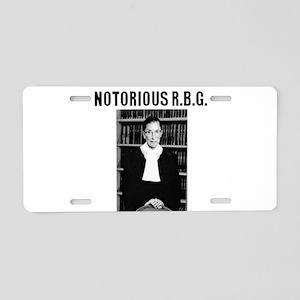 Notorious RBG Aluminum License Plate