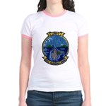 USS GUADALCANAL Jr. Ringer T-Shirt