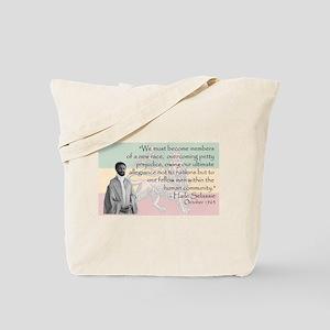 Haile Selassie Tote Bag