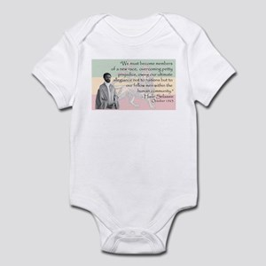 Haile Selassie Infant Bodysuit