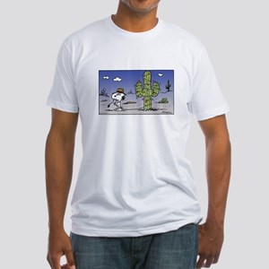 Cactus Lights Fitted T-Shirt