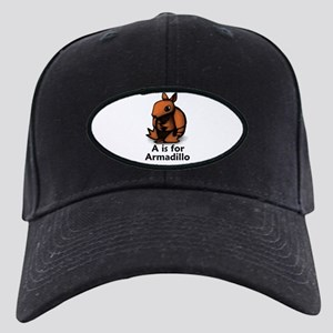 A is for Armadillo Black Cap