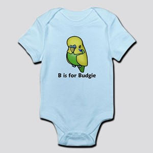 B is for Budgie Infant Bodysuit